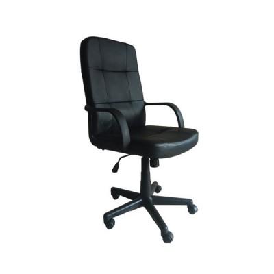 BF1000 Πολυθρόνα Διευθ.Μαύρο Pu