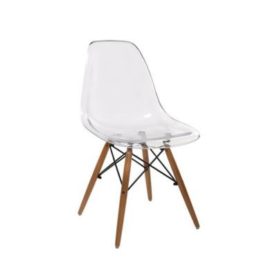 ART Wood Καρέκλα PC Clear