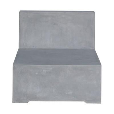 CONCRETE Καρέκλα Σαλονιού Cement Grey