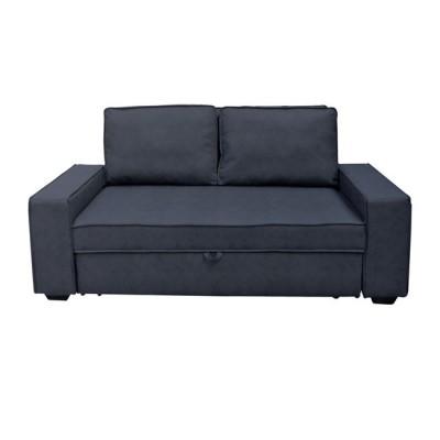 ALISON Καναπ.Κρεβάτι Nabuk Ανθρακί 176x102x91cm