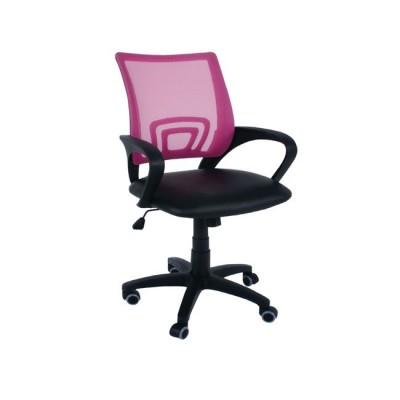 BF2101 Πολυθρόνα Ροζ/Μαύρο