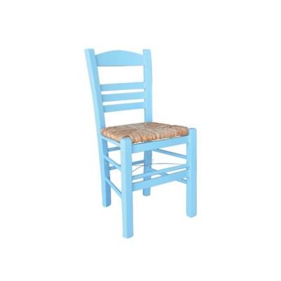 ΣΙΦΝΟΣ Καρέκλα Εμποτισμός Λάκα Γαλάζιο