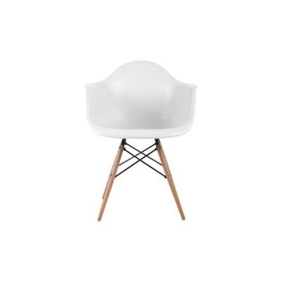 ALEA Wood Πολυθρόνα PP Λευκό