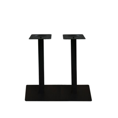 PRATO Βάση 70x40cm Steel Μακρόστενη H72cm Μαύρο