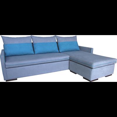 γωνιακός καναπές ελληνικής κατασκευής 220*150 krj lia