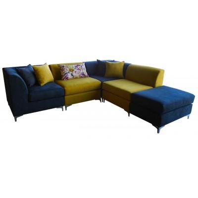 γωνιακός καναπές ελληνικής κατασκευής 250*230 krj myrto