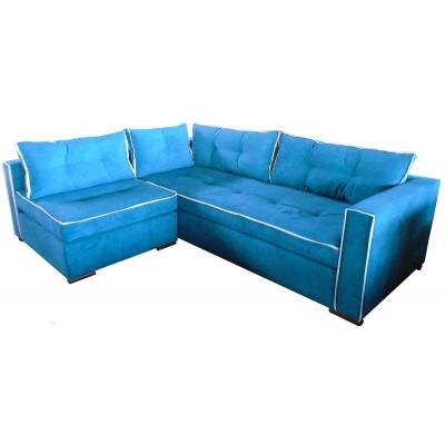 γωνιακός καναπές ελληνικής κατασκευής 240*190 krj passion